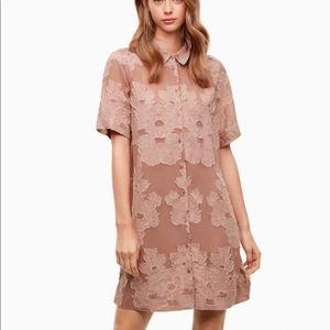 Aritzia Wilfred Hèmistiche Jacquard Dress, XS